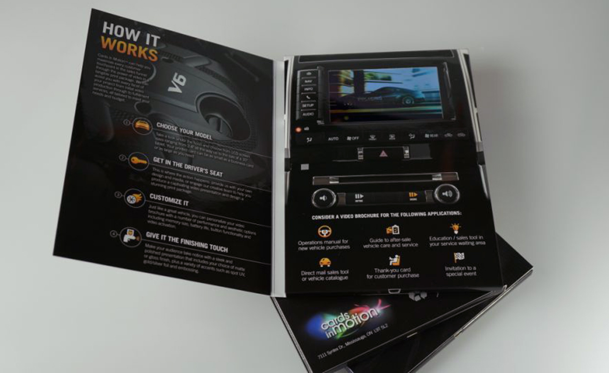 Cards in Motion Video Brochure